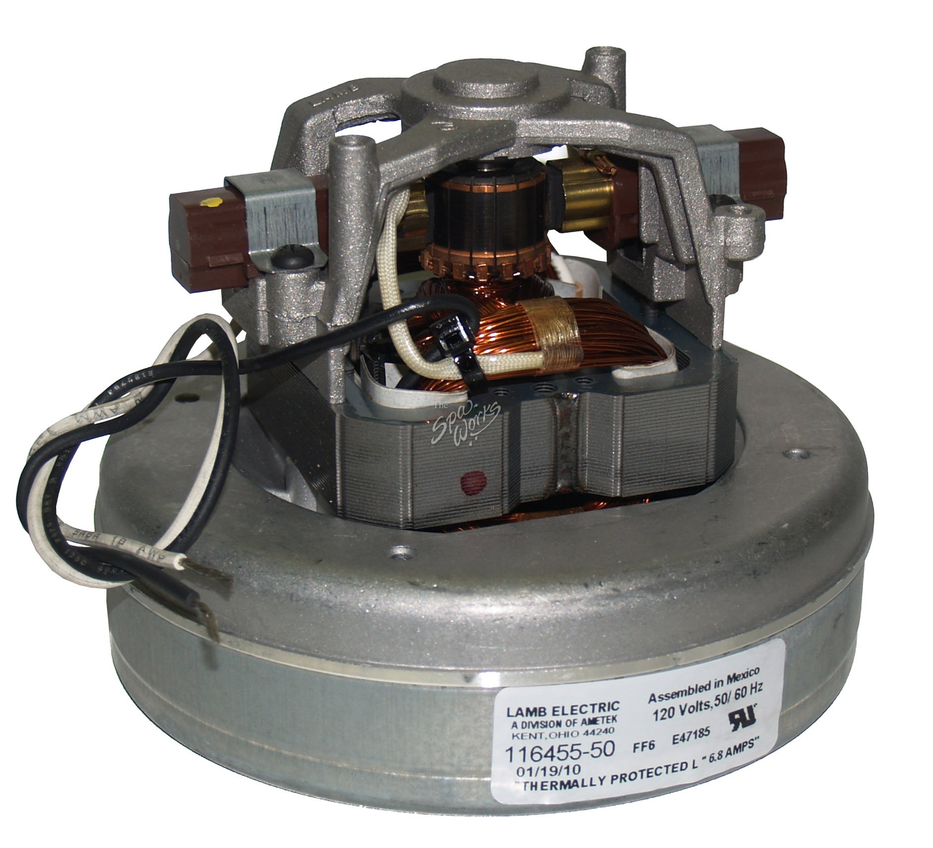 Air Blower Work : Sundance spa hp volt amp air blower motor