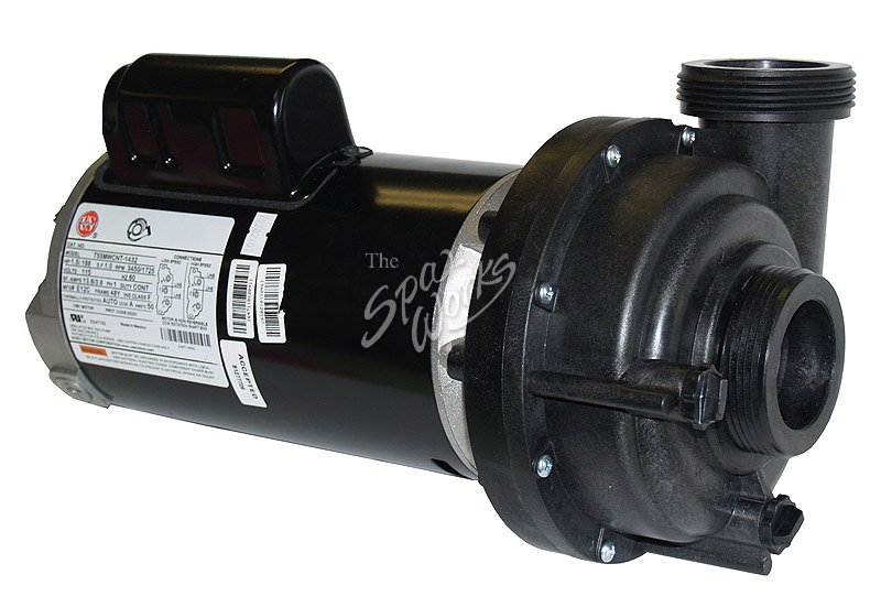 Jacuzzi Spa Pump Motor 1 1 2 Hp 2 Speed 115 Volt The
