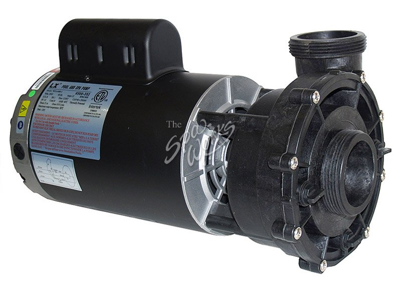 Jacuzzi spa pump 2 5 hp 240 volt 1 speed 56 frame for Spa pumps and motors