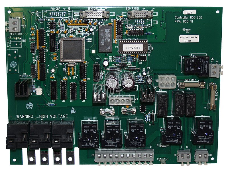 jacuzzi spa circuit board, j-300 lcd series, 2002-2006, 3 ... j 380 circuit board wiring diagram