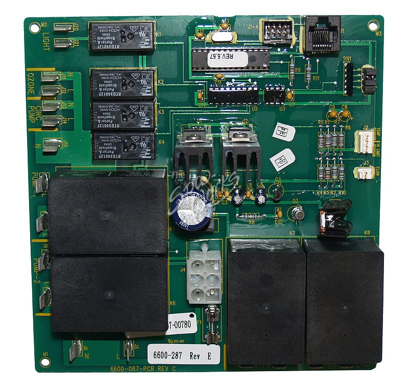 on Dimension One Spa Circuit Board
