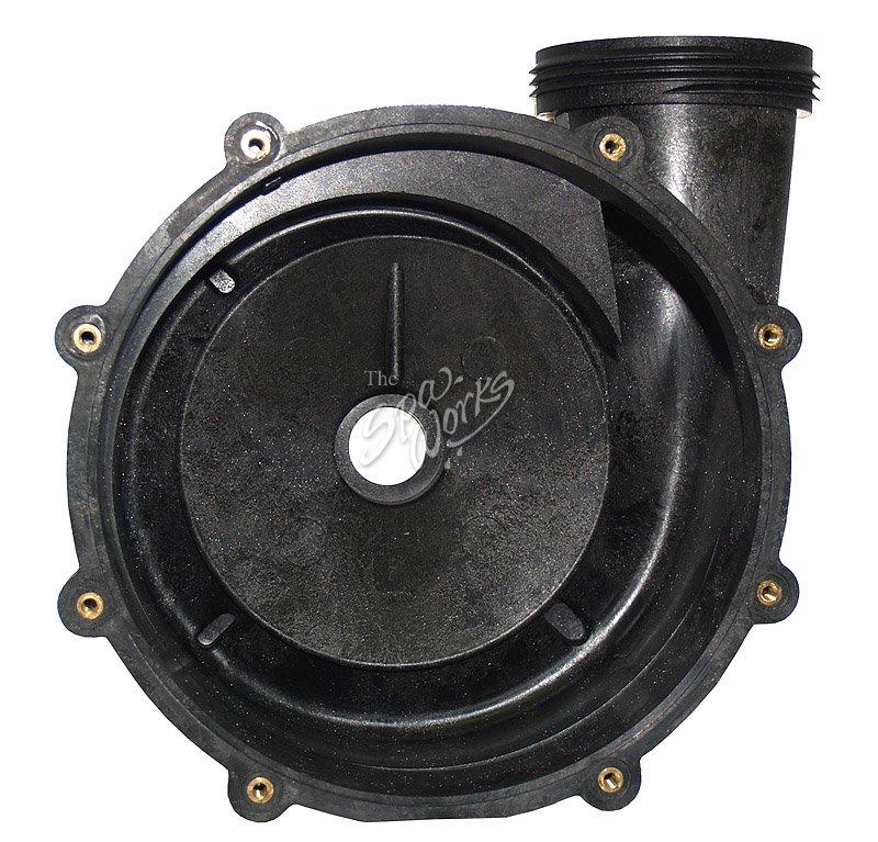 Jacuzzi spa 56 frame xp2 pump housing back j 400 series for Jacuzzi pumps and motors