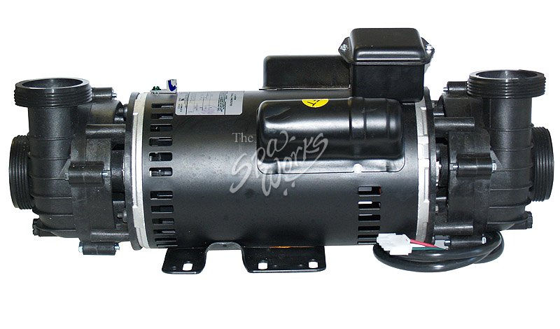 Cal spa power right 4 hp 48 frame dually pump complete for Cal spa dually pump motor