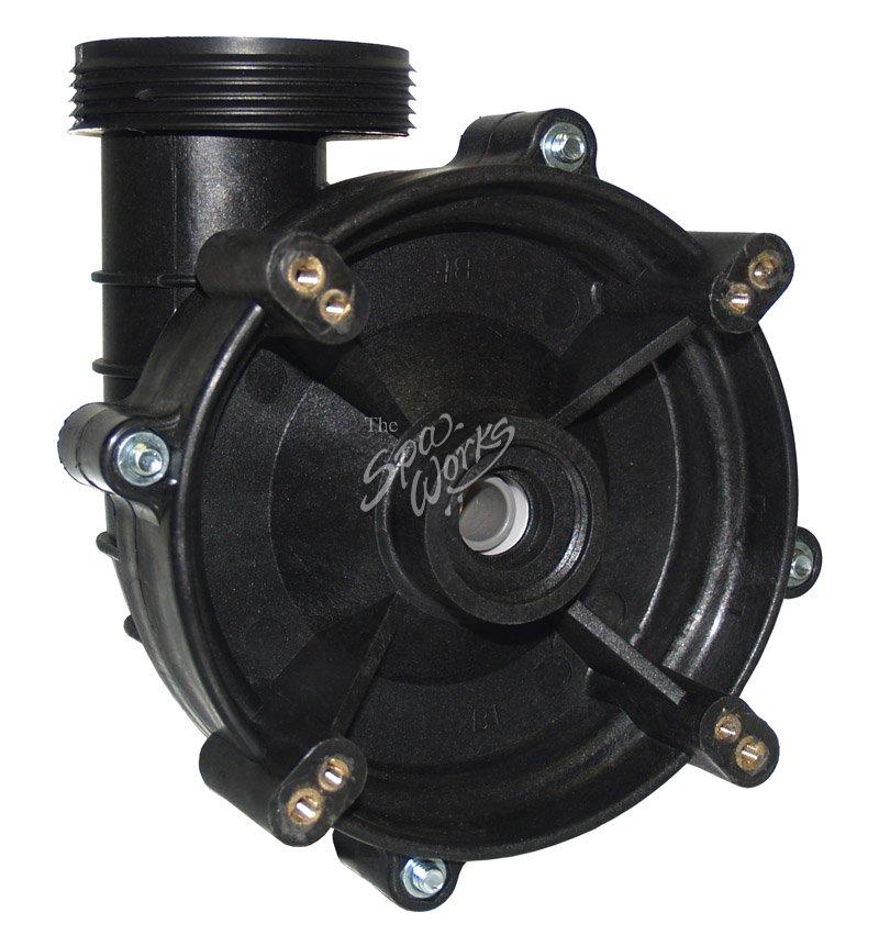 Cal spa power right 4 hp 48 frame dually forward wet end for Cal spa dually pump motor