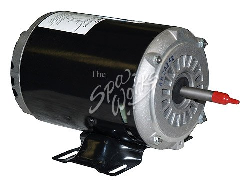 Jacuzzi spa motor 1 hp 1 speed 240 volts 60 hz j pump for Spa pumps and motors