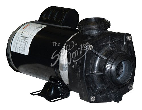 Jacuzzi spa pump 240 volts 3 hp 1 speed k pump the for Jacuzzi pumps and motors