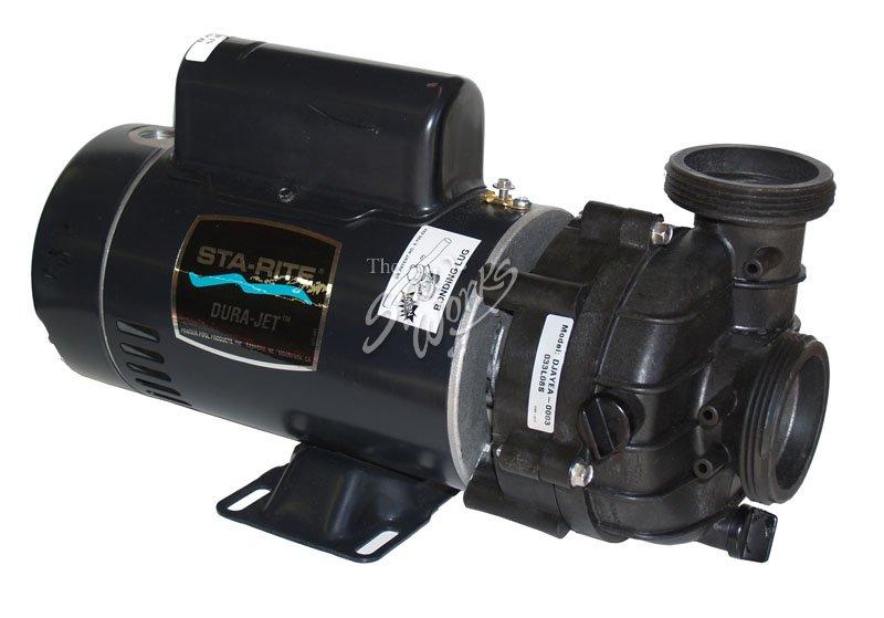 Marquis spa sta rite 1 0 hp 2 speed 115 volt pump the for Sta rite pump motor