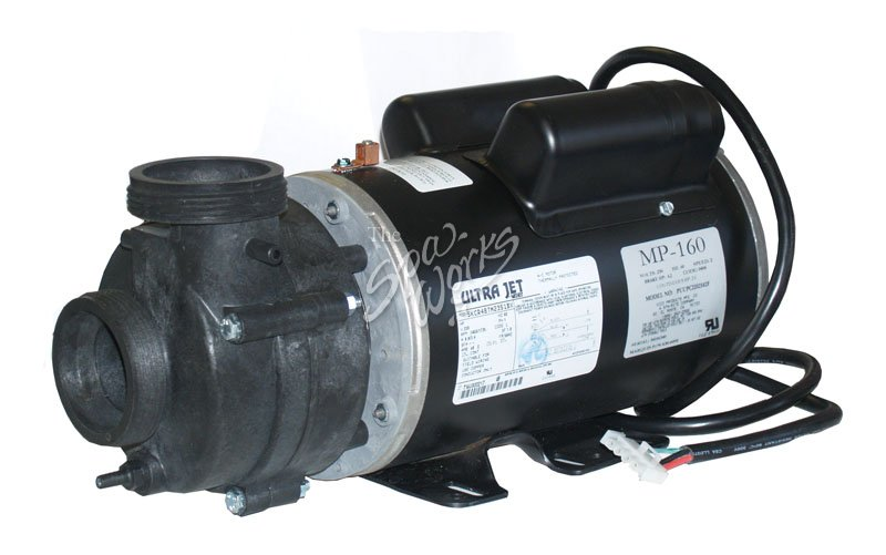 Marquis spa 4 2 bhp 2 speed 230 volt ultra jet pump for Spa motor and pump