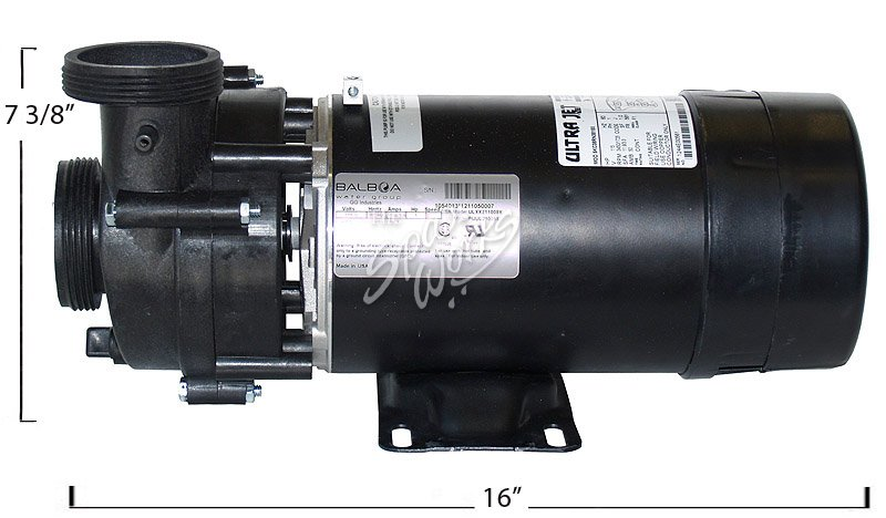 Cal Spas 1 Hp 2 Speed 115 Volt Pump Without Cord 1500
