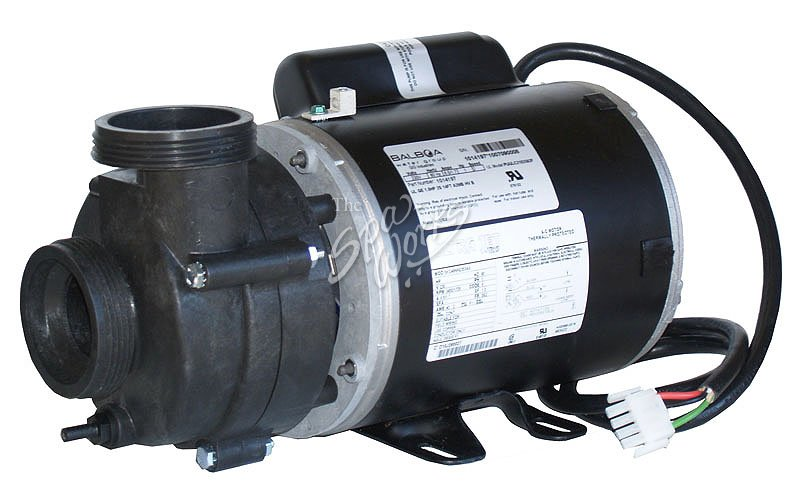 Vico ultra jet 1 hp 230 volt 2 speed 48 fr pump 56 fr for Spa motor and pump