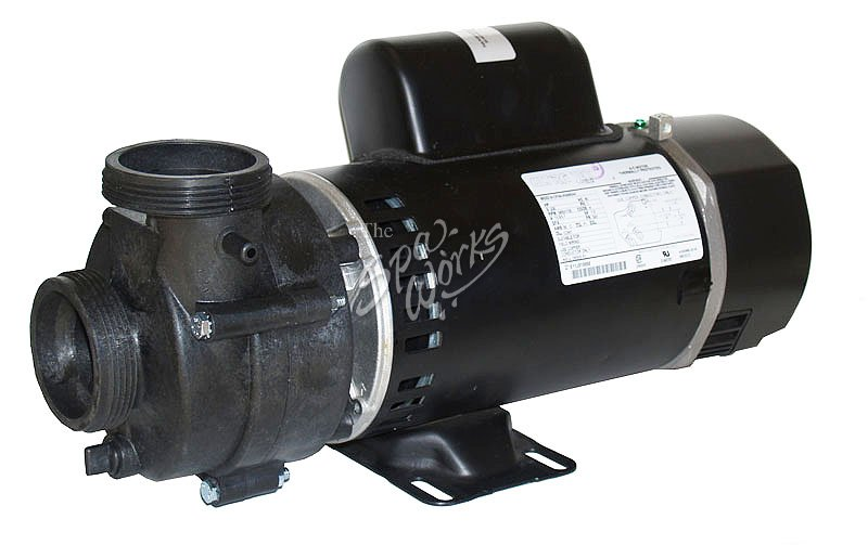 Cal spa 4 bhp 1 speed pump without power cord the spa works for Spa motor and pump