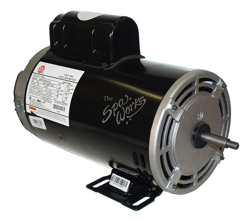 U S Motors 4 Hp 230 Volt 2 Speed 56 Y Frame Motor
